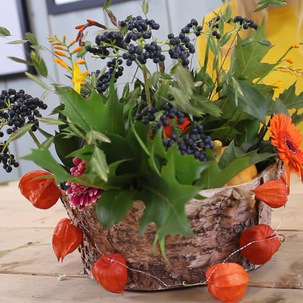 Fall Centerpiece Blog Video Holex Flower FI