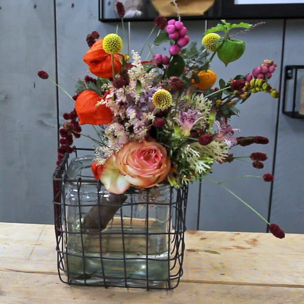 Stunning Fall Wedding Bouquet FI