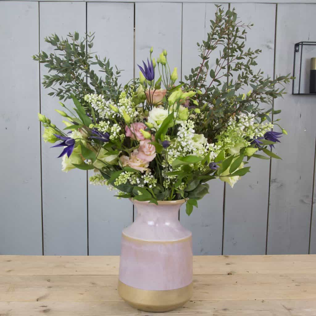 Bohemian Bouquet with Lisianthus