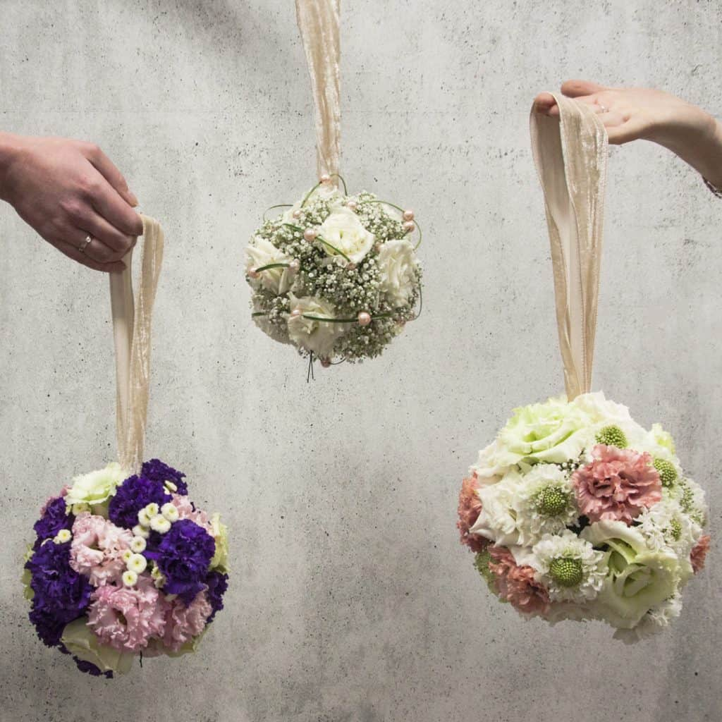 Lisianthus Pomander Design Ideas