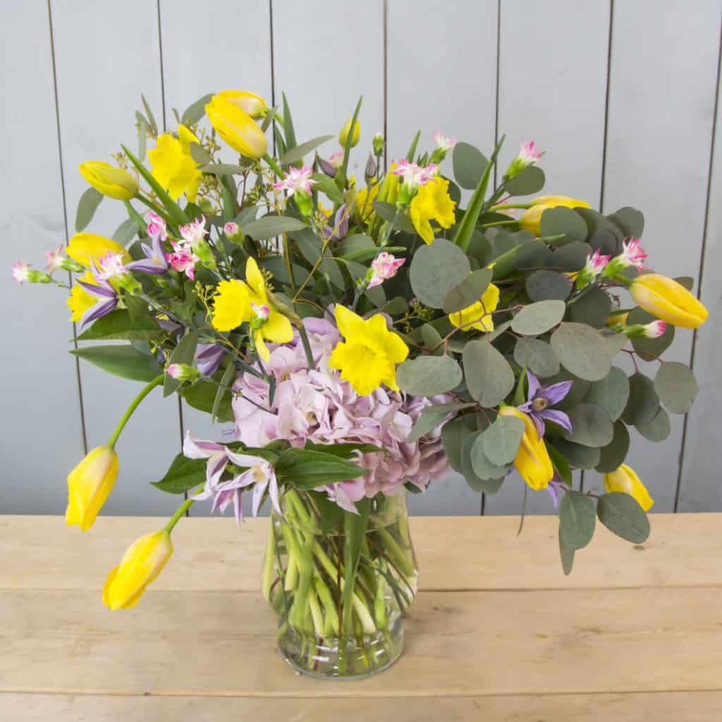 Spring Bouquet with French Tulips | Holex Flower