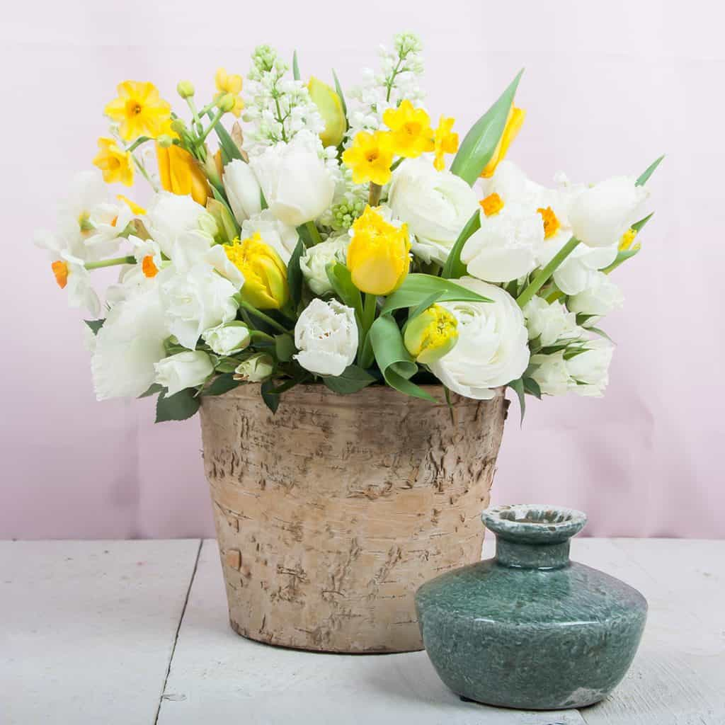 Spring Centerpiece with Daffodil