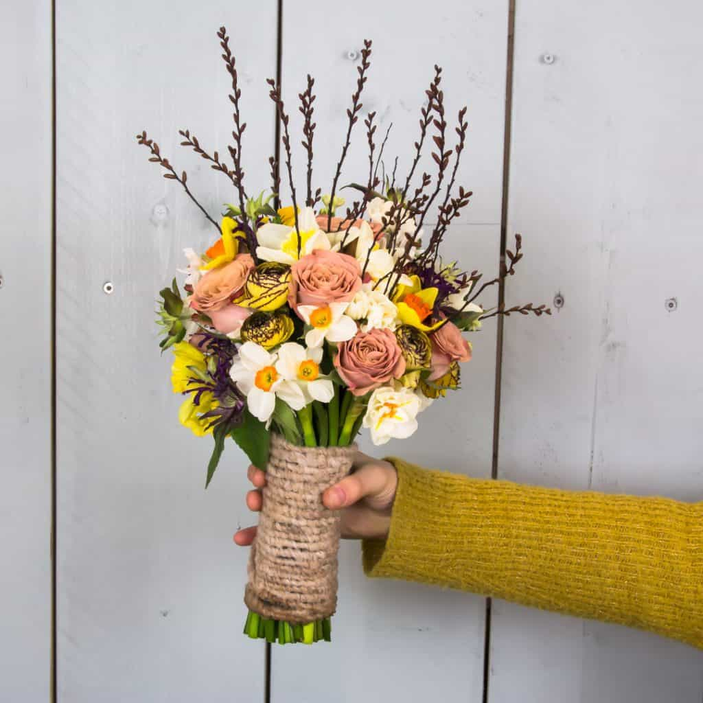 Wedding Bouquet with Daffodil | Holex Flower