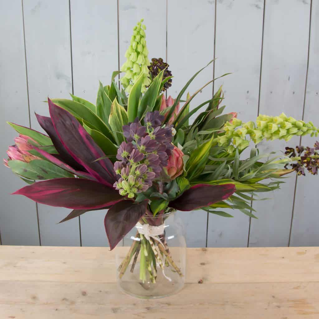 Exotic Spring Bouquet with Fritillaria