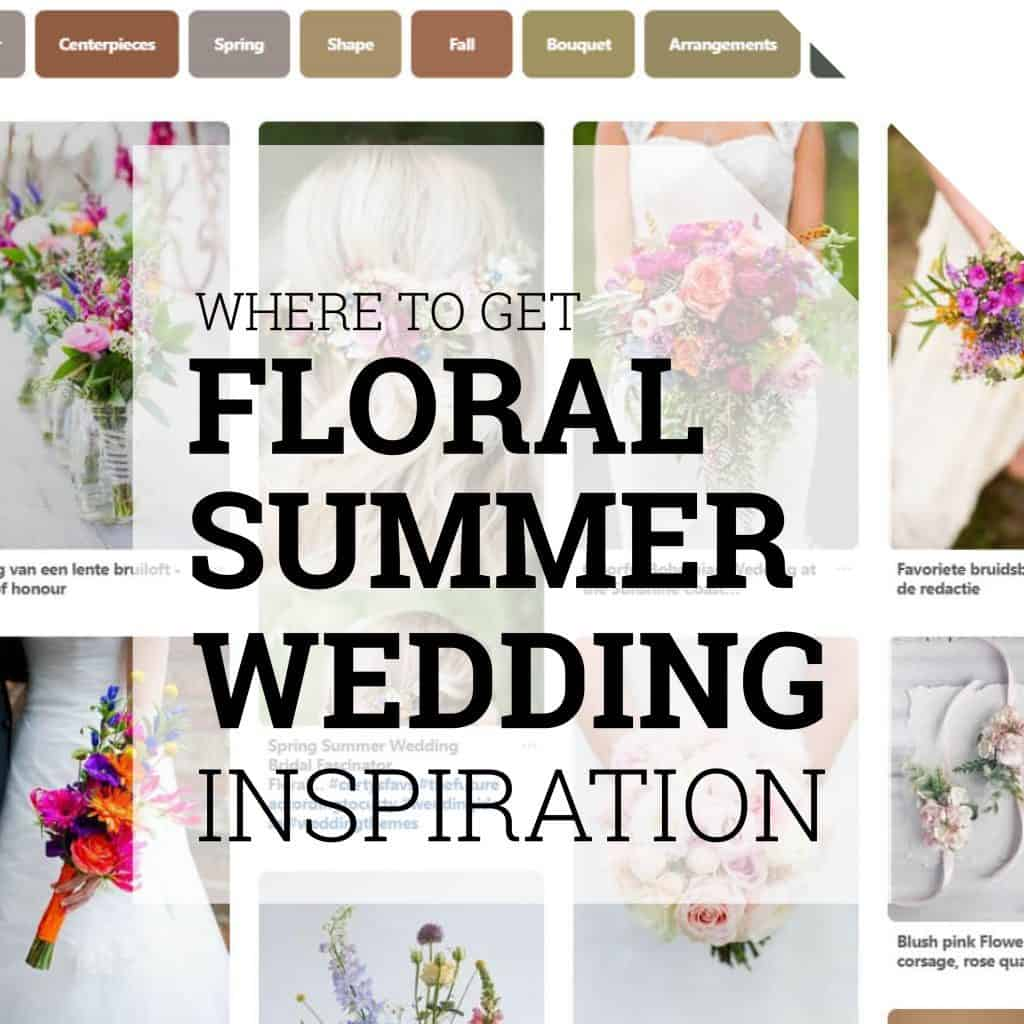 Where to get floral summer wedding inspiration Holex Flower