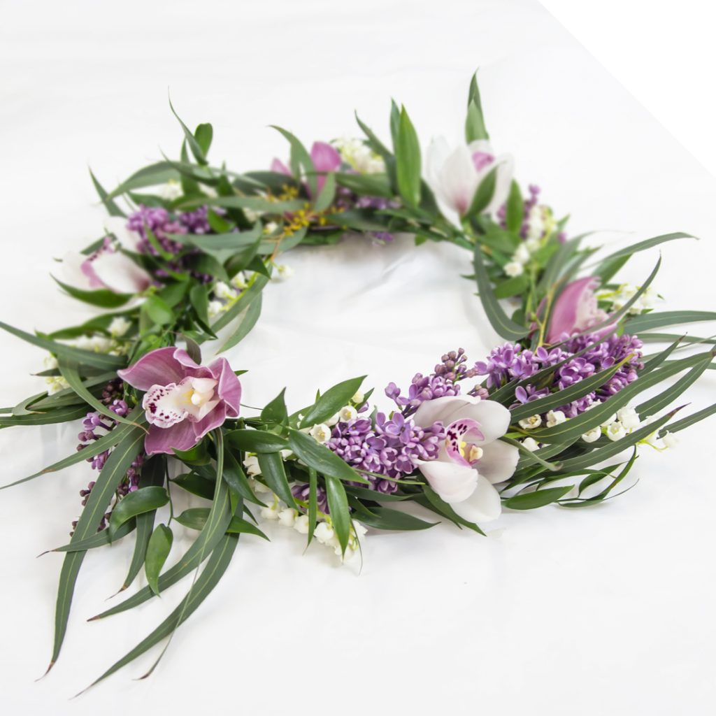 Summer Wedding Floral Crown