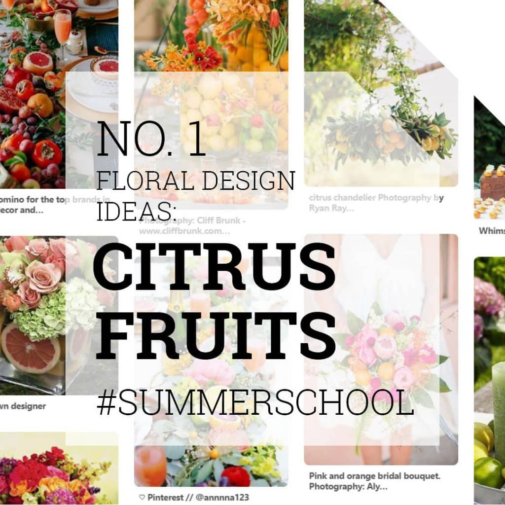 Floral Design Ideas with Citrus Fruits | Holex Flower