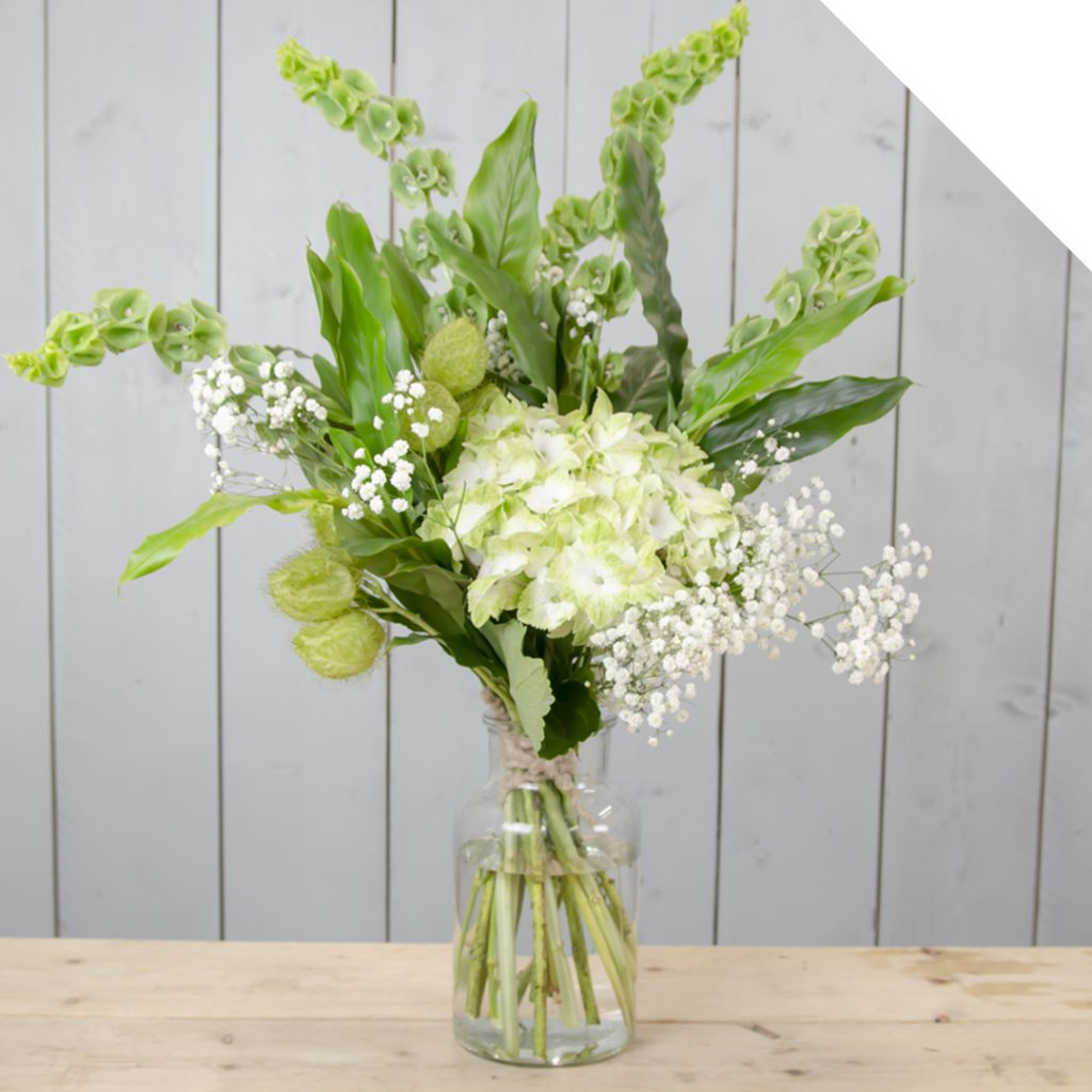 Vibrant Green Summer Bouquet