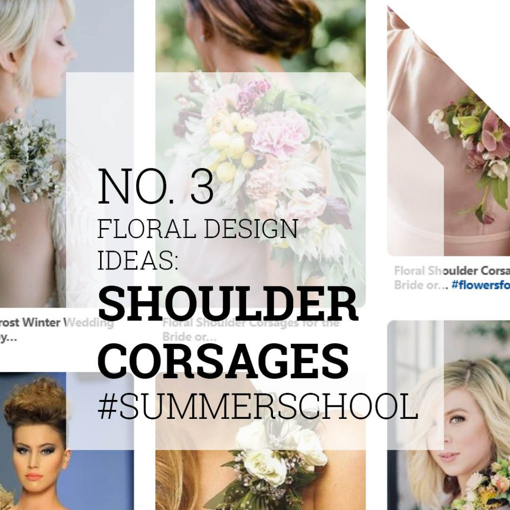 Floral Design Ideas Shoulder Corsages