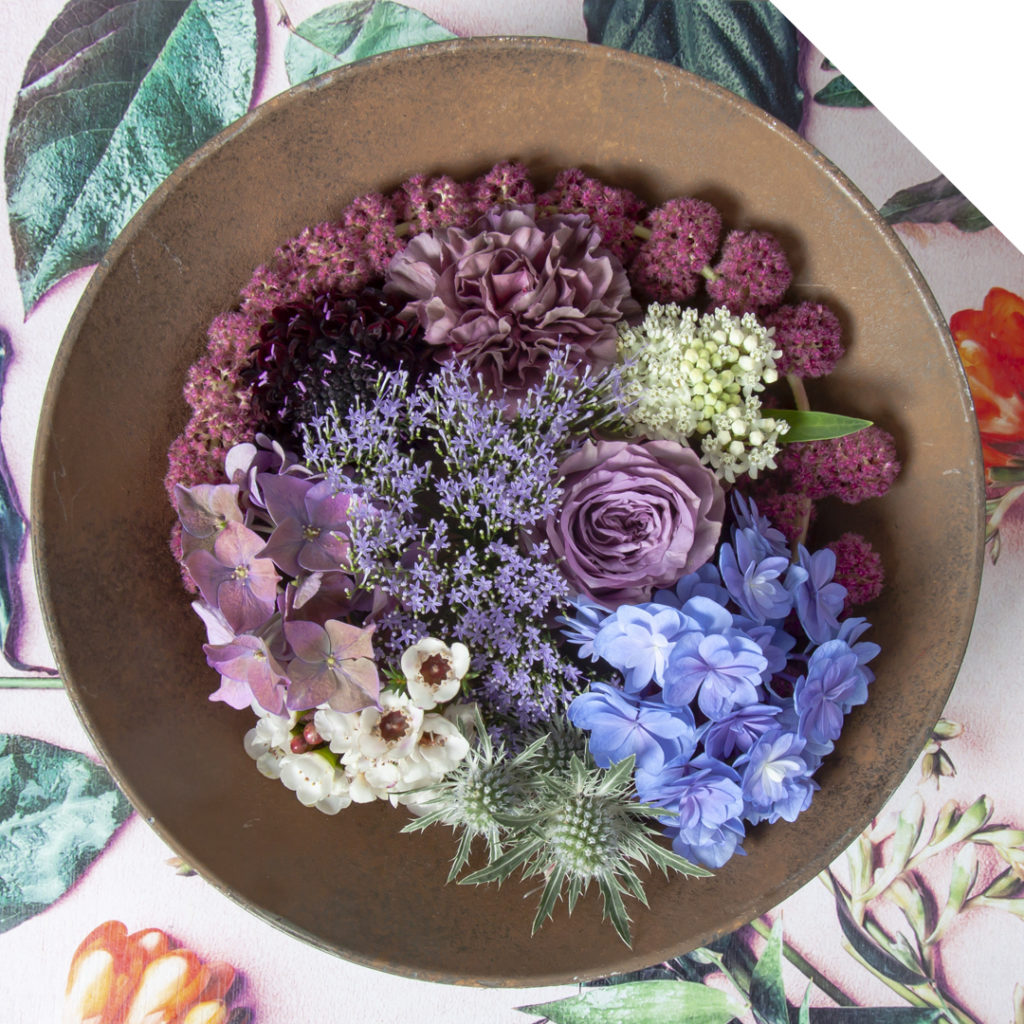Textured Floral Poke Bowl