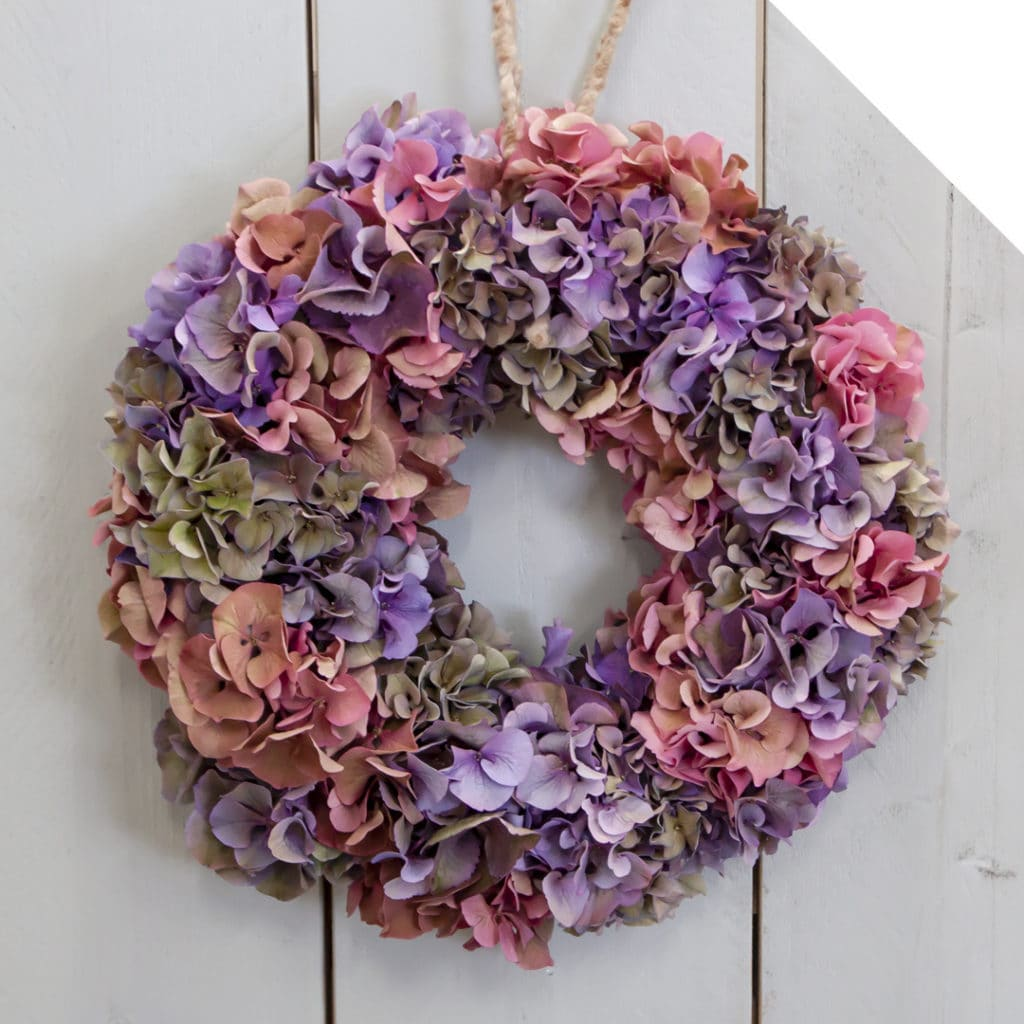 Classic Hydrangea Wreath | Holex Flower