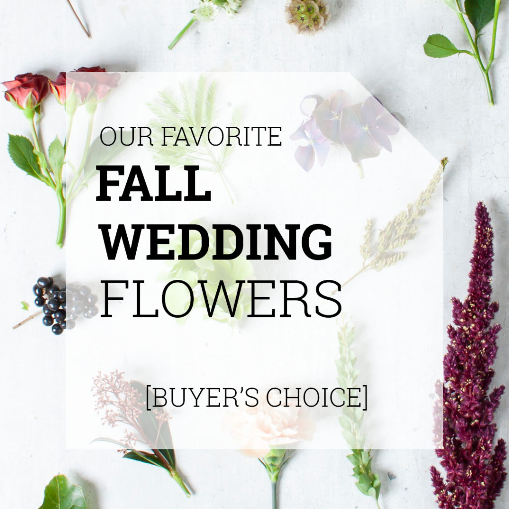 Favorite Fall Wedding Flowers | Holex Flower