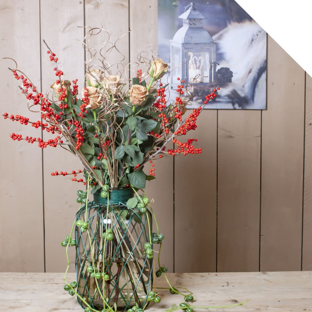 Large Winter Centerpiece | Holex Flower