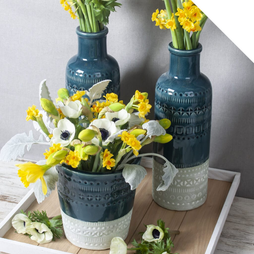 Table Piece with Daffodils | Holex Flower
