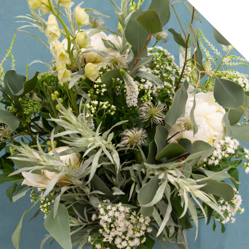 White Summer Bouquet | Holex Flower