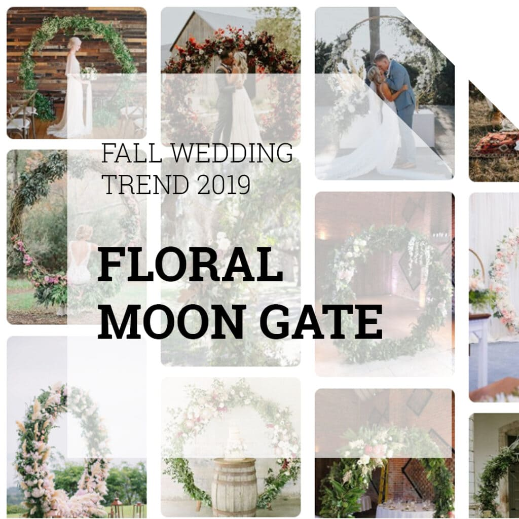 Floral Moon Gate | Holex Flower