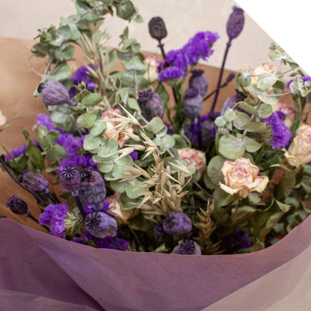 Dried Flowers Bouquet | Holex Flower